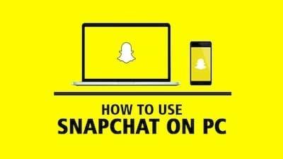 انشاء حساب سناب شات snapchat على الكمبيوتر