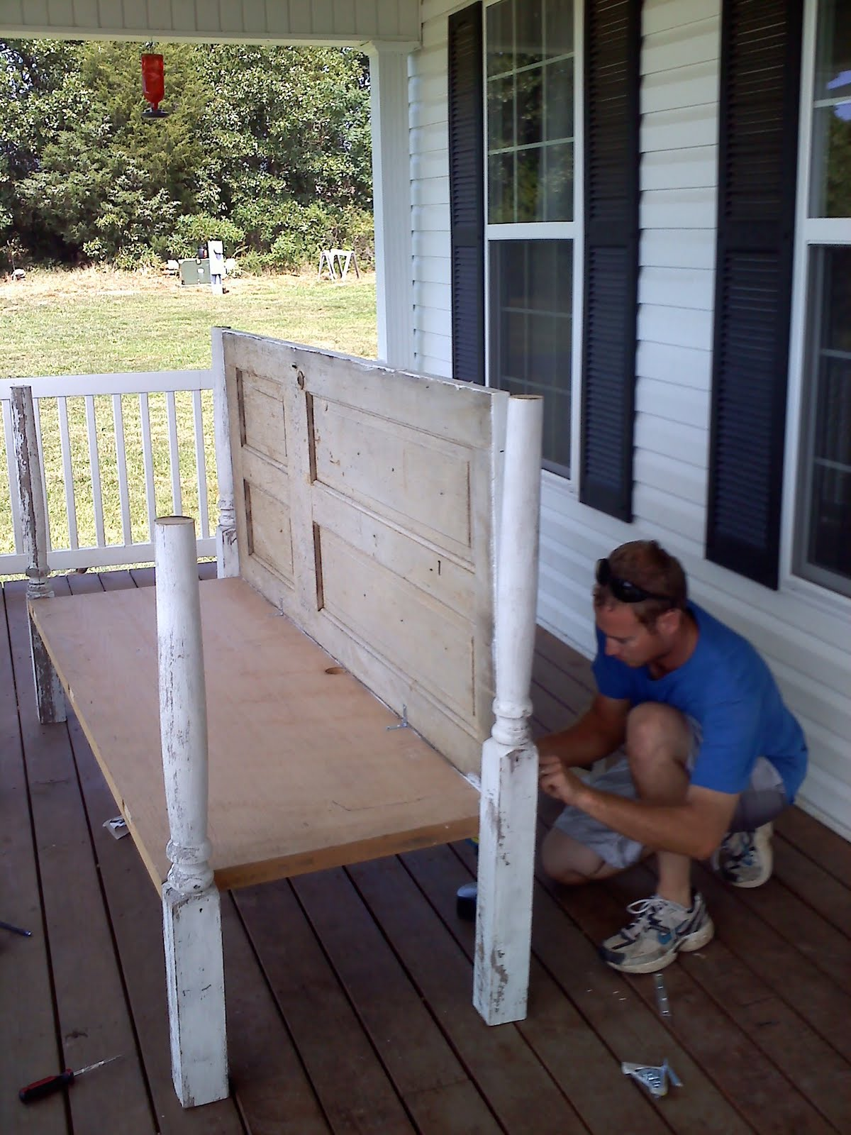 Redneck Martha Stewart Daybed For Porch Made Out Of Old