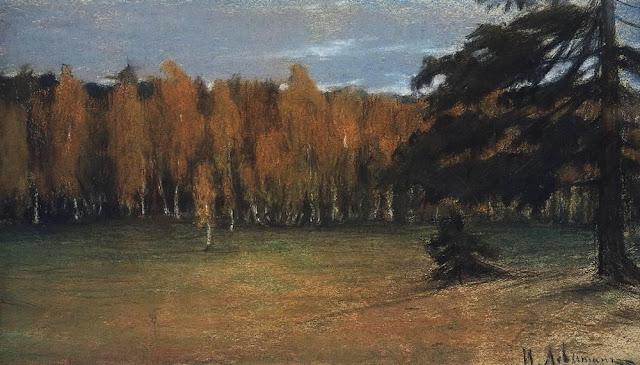 Исаак Ильич Левитан - Осенний пейзаж (2)