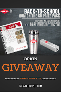 Orkin Household Pests Blog App and Giveaway