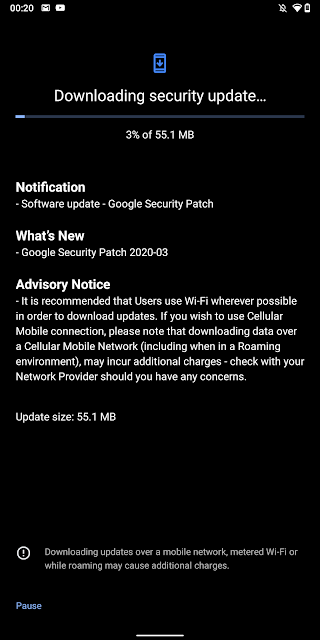 Nokia 7 Plus receiving March 2020 Android Security Patch
