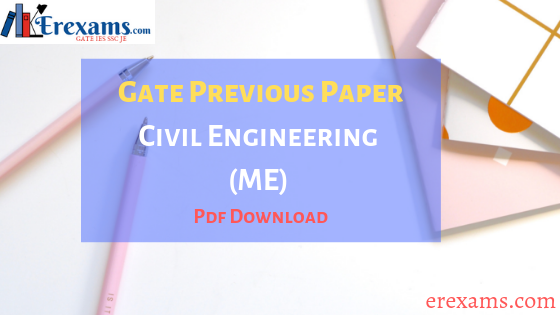 GATE Civil Question Papers