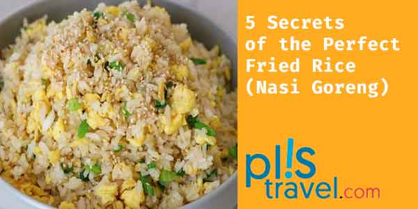 Egg Fried rice is a very popular cuisine in Southeast Asia. This recipe is a special fried rice from Indonesia served with restaurant-style eggs.