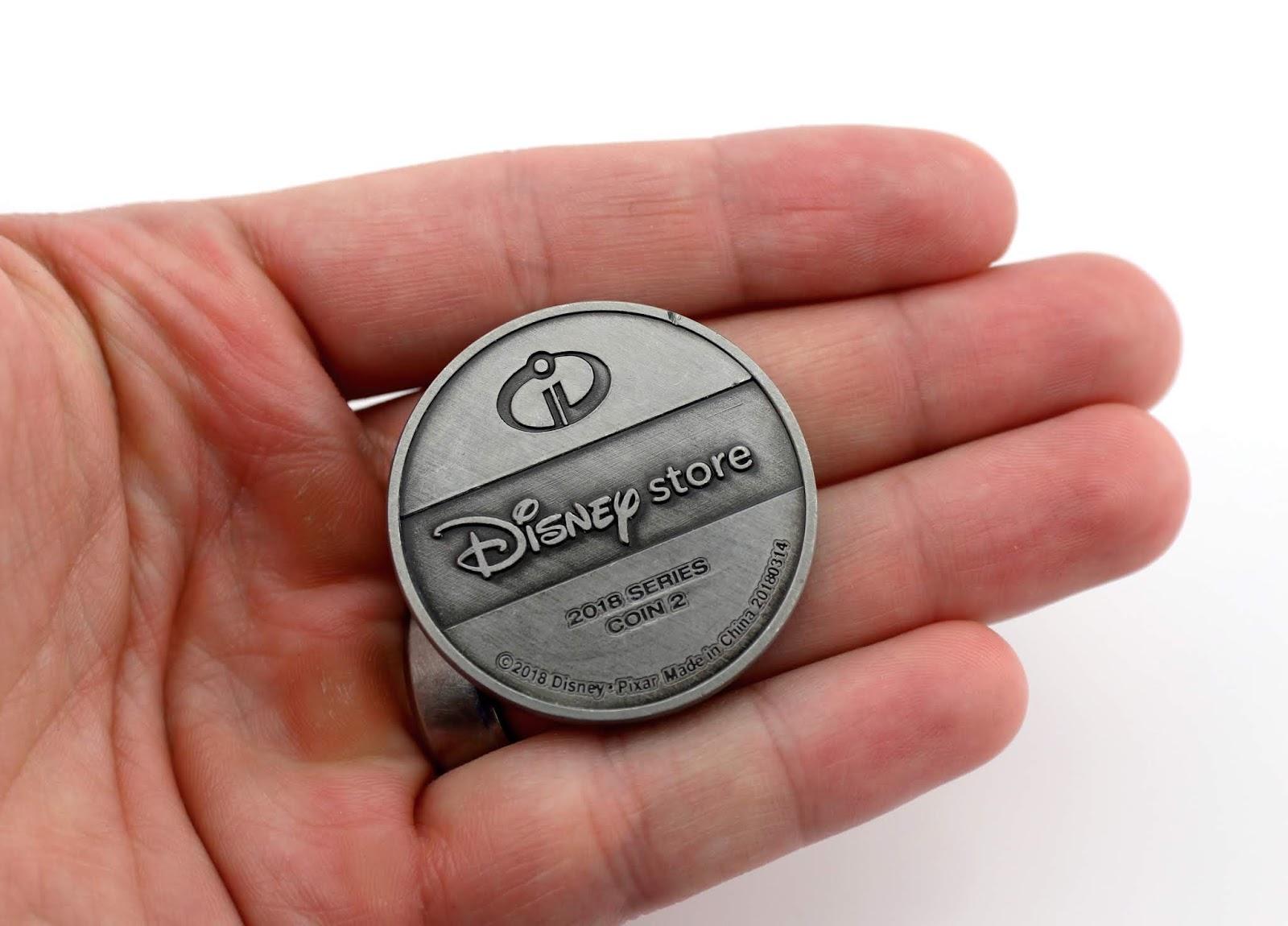 incredibles 2 disney store fan thursday collector coin