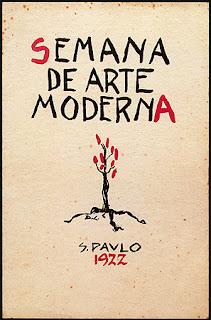 Cartaz Semana de 22 - Matéria Theatro Municipal de São Paulo - BLOG LUGARES DE MEMÓRIA