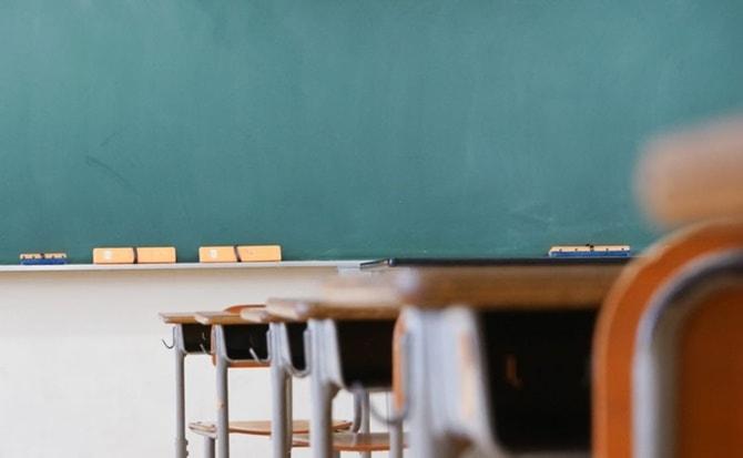 estudiantes, salón, clases, online,