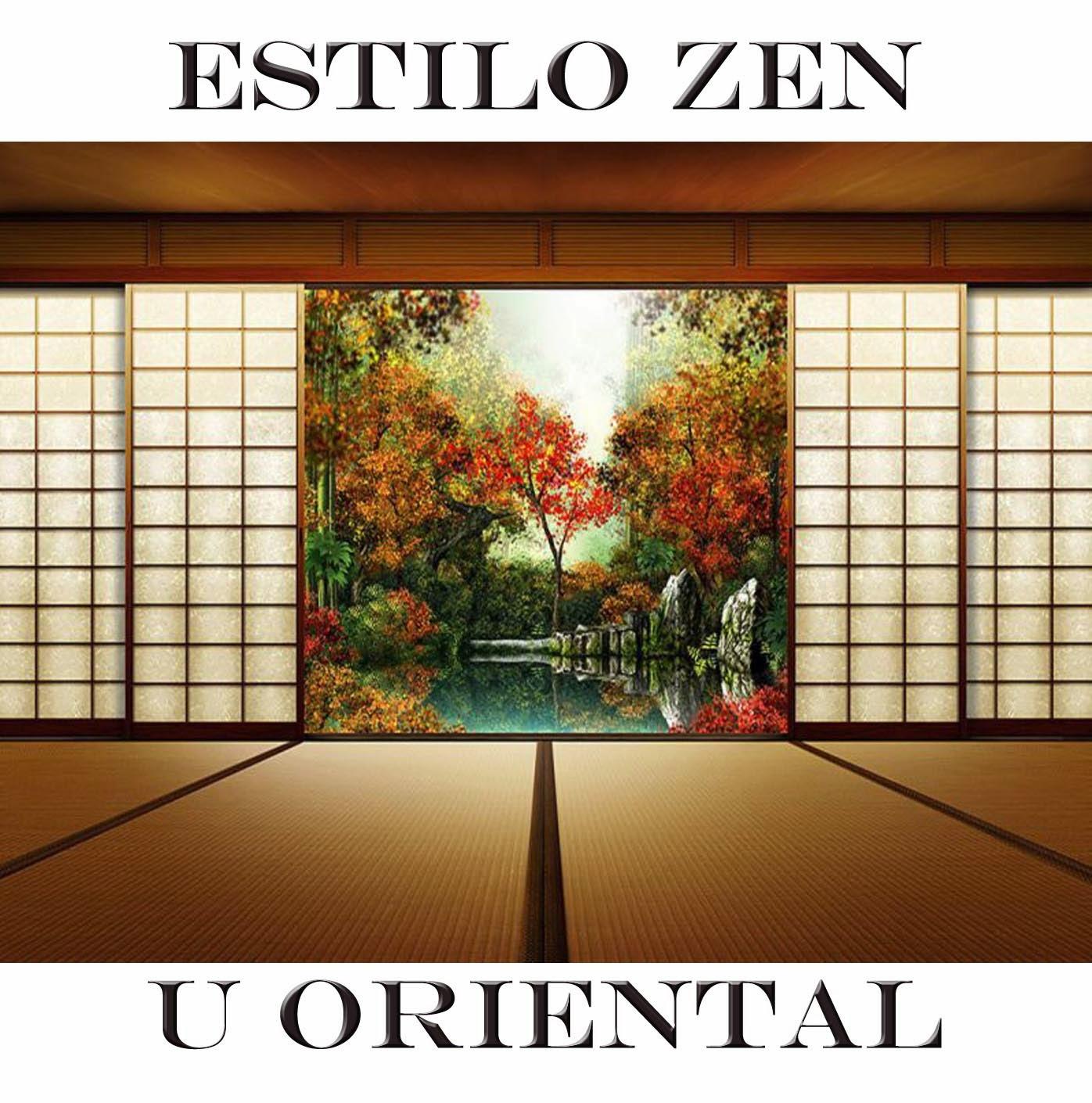 Estilo zen u oriental