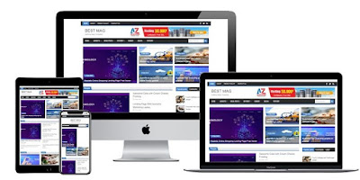 Best Mag 2021 Responsive Blogger Template