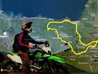 Sensasi Solo-Riding  6 hari 5 malam Melintasi Sepertiga Jawa Tengah