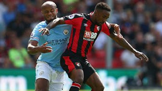 AFC Bournemouth vs Manchester City 1 - 2 Video Gol & Highlights.