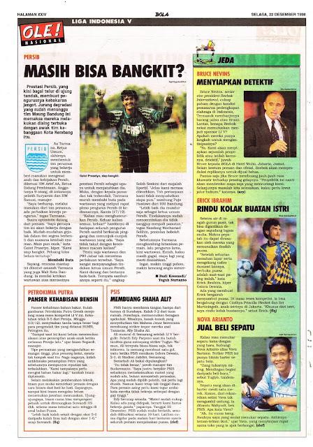LIGA INDONESIA V PERSIB BANDUNG