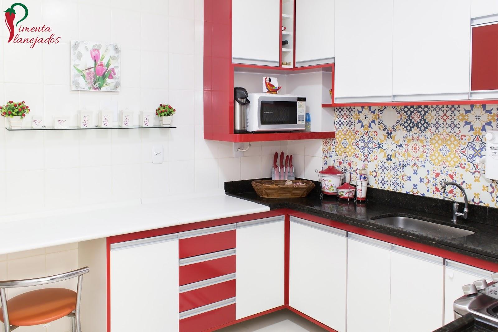 Armario De Cozinha Branco E Vermelho Oppenau Info