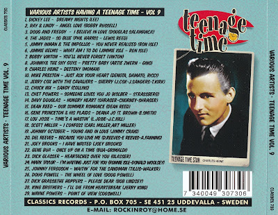 Various Artists - Teenage Time Vol. 9