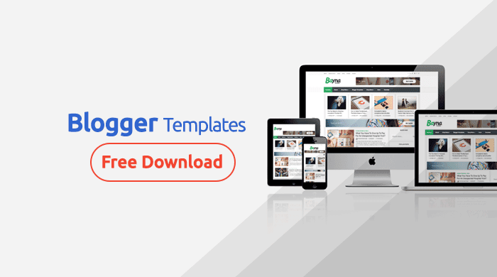 Free Blogger Templates for business blog