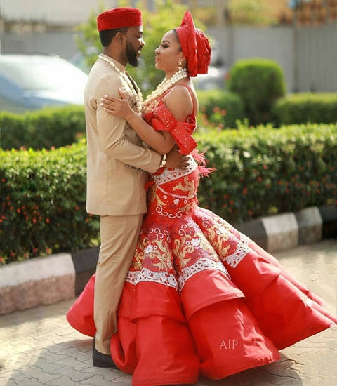 Actress Linda Ejiofor Weds Actor, Ibrahim Suleiman