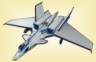 XCD-102 fighter config