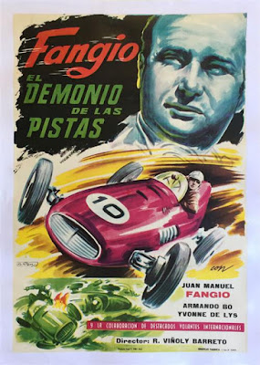 Fangio El Demonio de las Pistas original movie poster