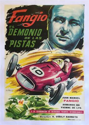 Fangio El Demonio de las Pistas original movie poster