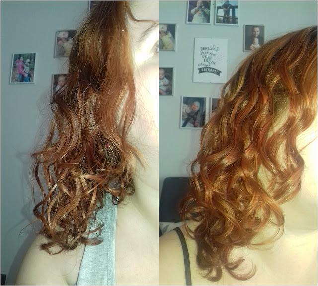 przenawilżenie włosów kręconych