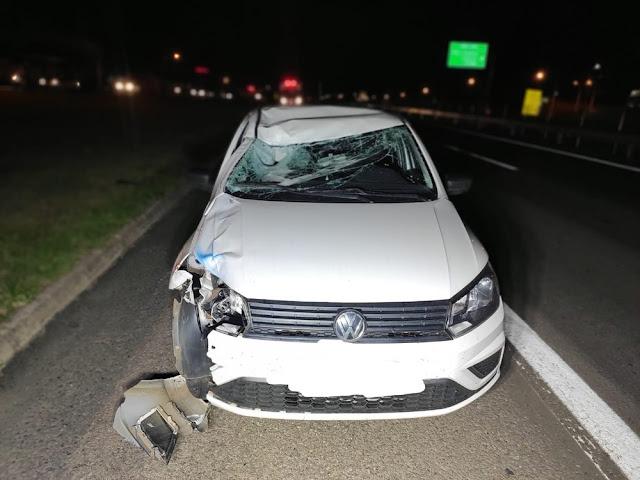 Homem morre após ser atropelado por carro em trecho urbano da Rodovia Raposo Tavares