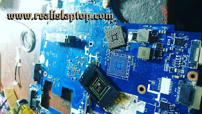 ganti procesor laptop singgel chip on board