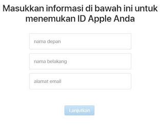 Cara Mengatasi Lupa Sandi ID Apple Dengan Mudah