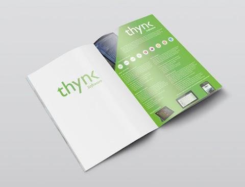 Wide Brochure Mockup