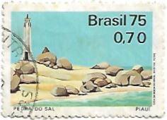 Selo Praia da Pedra do Sal - Piauí