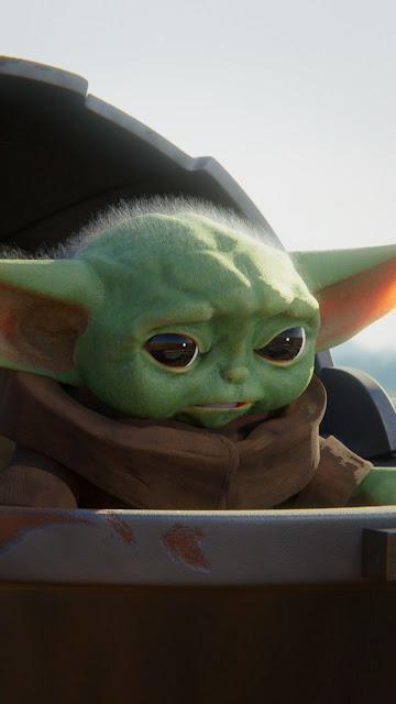 Plano de Fundo Bebê Yoda HD Star wars