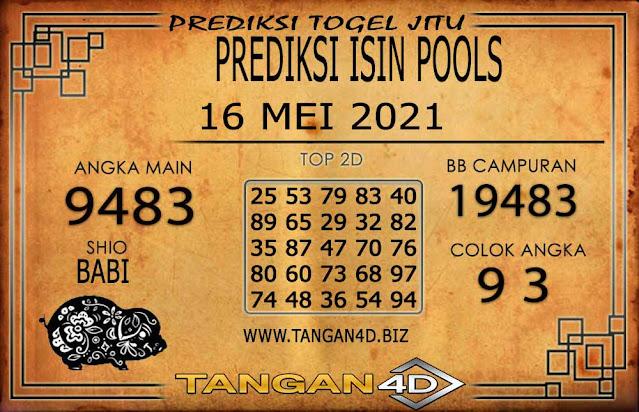 PREDIKSI TOGEL ISIN TANGAN4D 16 MEI 2021
