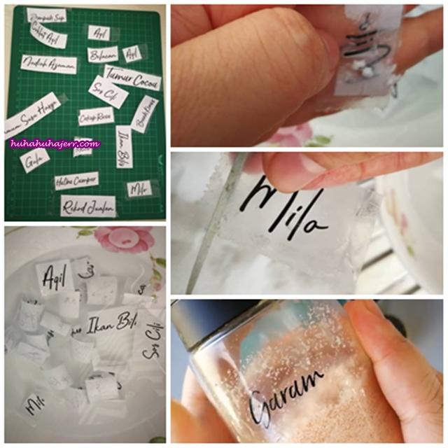 Cara Buat Label Sticker Sendiri Yang Mudah Dan Jimat Sesangat...