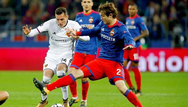 cuplikan gol basel vs cska moskow 1-2