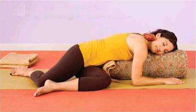 Yoga, Giro con Apoyo, variación