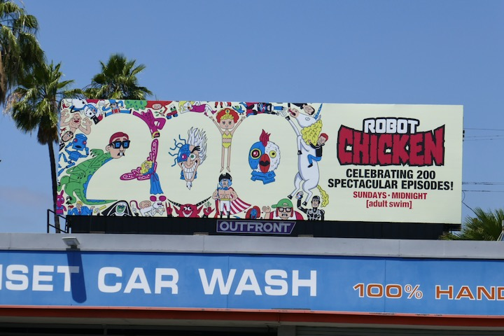 Robot Chicken 200 episodes billboard