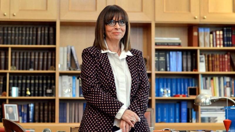 Η Πρόεδρος της Δημοκρατίας Αικατερίνη Σακελλαροπούλου συνεχάρη τις γυναίκες του Έβρου