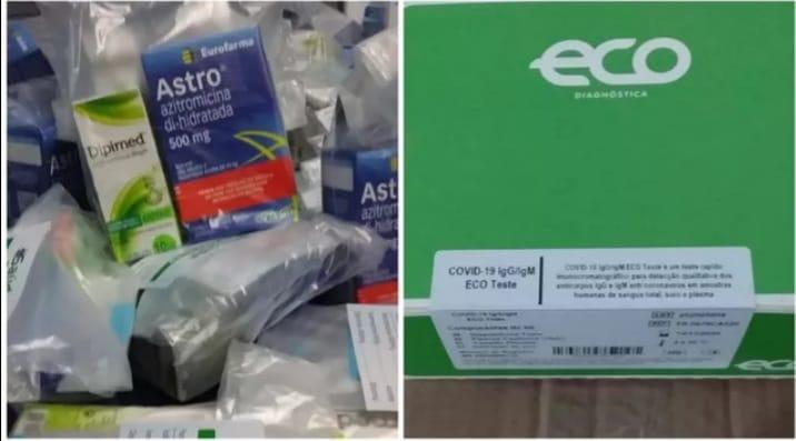 Prefeitura de Oriximiná recebe medicamentos para tratar paciente com covid-19.