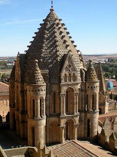 Cimborrio; cúpula; Catedral Vieja; Salamanca; Castilla y León; Vía de la Plata