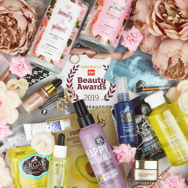 The Latest In Beauty Sainsbury's Beauty Awards 2019 Box, Lovelaughslipstick Blog Review