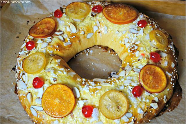 Receta Roscón de Reyes