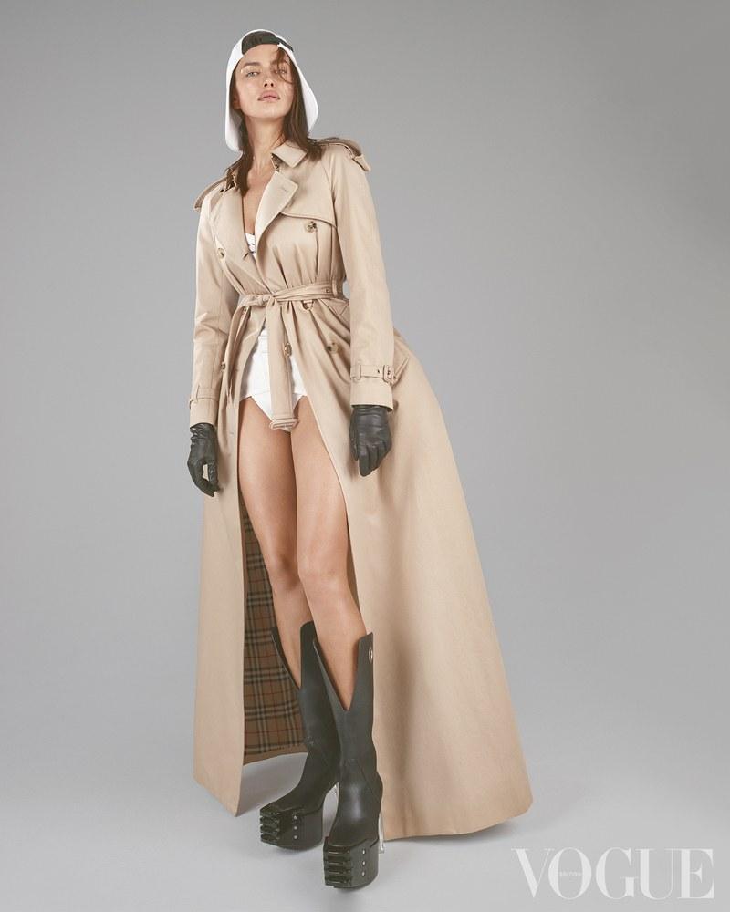 Irina Shayk for Vogue UK March 2020