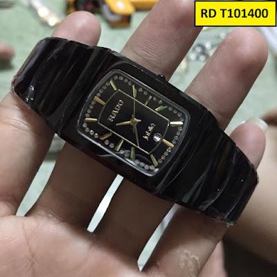 đồng hồ nam mặt vuông, đồng hồ nam mặt chữ nhật RD T101400