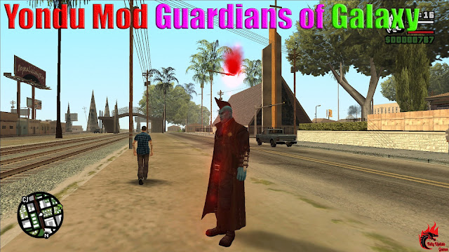 GTA San Andreas Yondu Mod Guardians of Galaxy