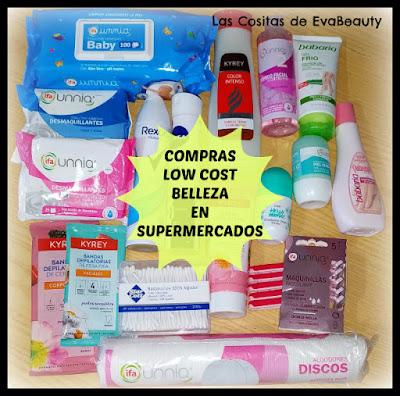 Compras low cost belleza en Supermercados