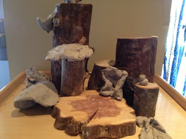 the making of a clay fairy house fairy dust teaching. Black Bedroom Furniture Sets. Home Design Ideas