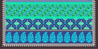 Traditional-illustration-indian-motif-textile-border-210032