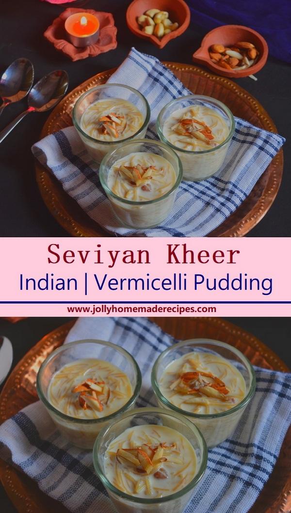 Vermicelli Pudding | Seviyan Kheer  Recipe