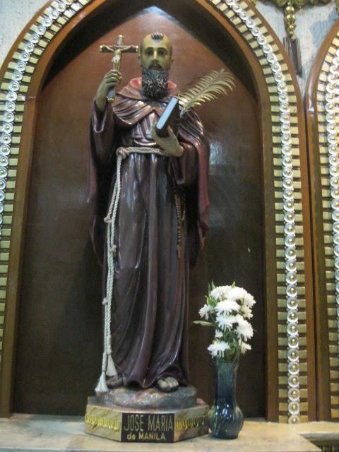 El padre José María de Manila