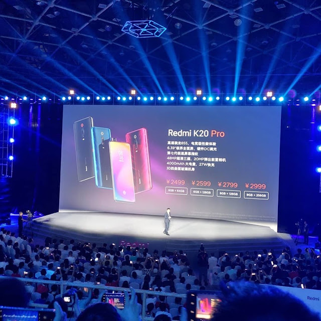 Redmi K20 Pro apresentado
