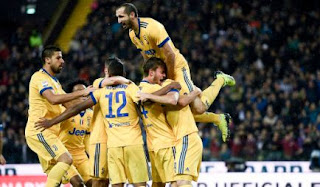 Juventus Hancurkan Udinese 6-2