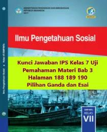 Kunci-Jawaban-IPS-Kelas-7-Uji-Pemahaman-Materi-Bab-3-Halaman-188-189-190